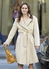 Leighton Meester - On Set of Gossip Girl-20