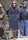 Leighton Meester - On Set of Gossip Girl-27