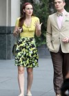 Leighton Meester - Gossip Girl photos from the set-05