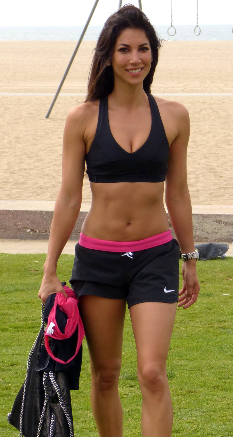 Leilani Dowding Working Out In Santa Monica 05 Gotceleb