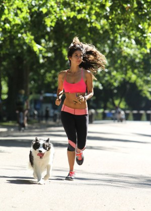 Leilani Dowding in Tight Legging Workout -13