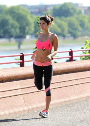 Leilani Dowding in Tight Legging Workout -27