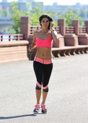 Leilani Dowding in Tight Legging Workout -30