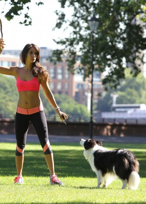 Leilani Dowding in Tight Legging Workout -31