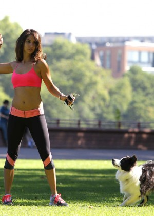 Leilani Dowding in Tight Legging Workout -38
