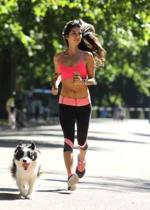 Leilani Dowding in Tight Legging Workout -45