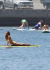 Leilani Dowding in bikini paddleboarding-02