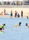 Leilani Dowding in bikini paddleboarding-05