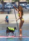 Leilani Dowding in bikini paddleboarding-09