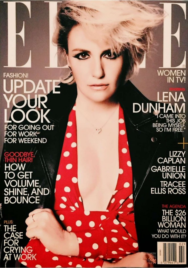 Lena Dunham - Elle US Cover Magazine (February 2015)