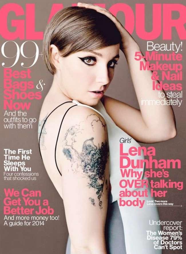 Lena Dunham: Glamour Magazine -01