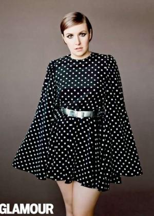Lena Dunham: Glamour Magazine -03