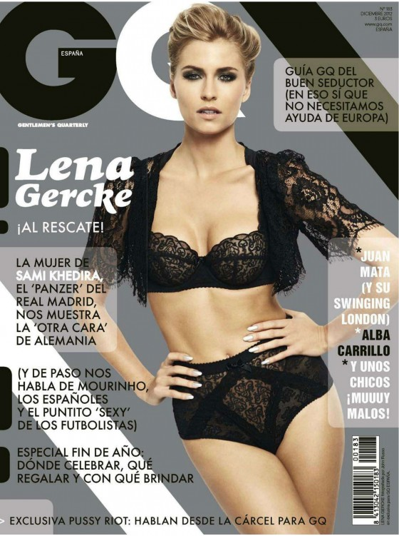 Lena Gercke - GQ Spain Magazine (December 2012)