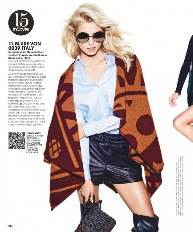Lena Gercke - In Style Germany Magazine (October 2014)