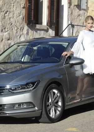 Vw Van Nuys >> Lena Gercke – Presentation of VW Passat in Sardinia | GotCeleb