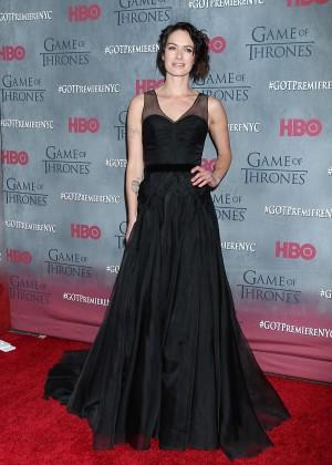 Lena Headey: Game of Thrones NY Premiere -07