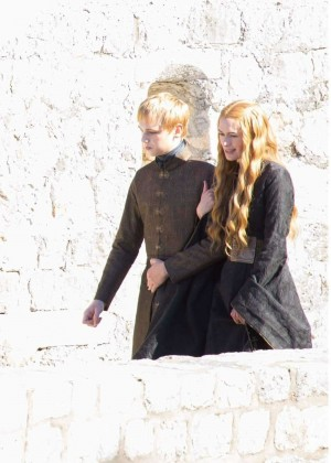 "Lena Headey Filming ""Game of Thrones"" set in Dubrovnik"
