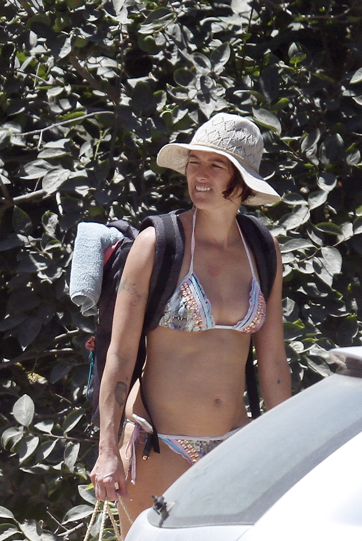 Lena Headey Bikini Photos At A Beach In Ibiza 10 Gotceleb