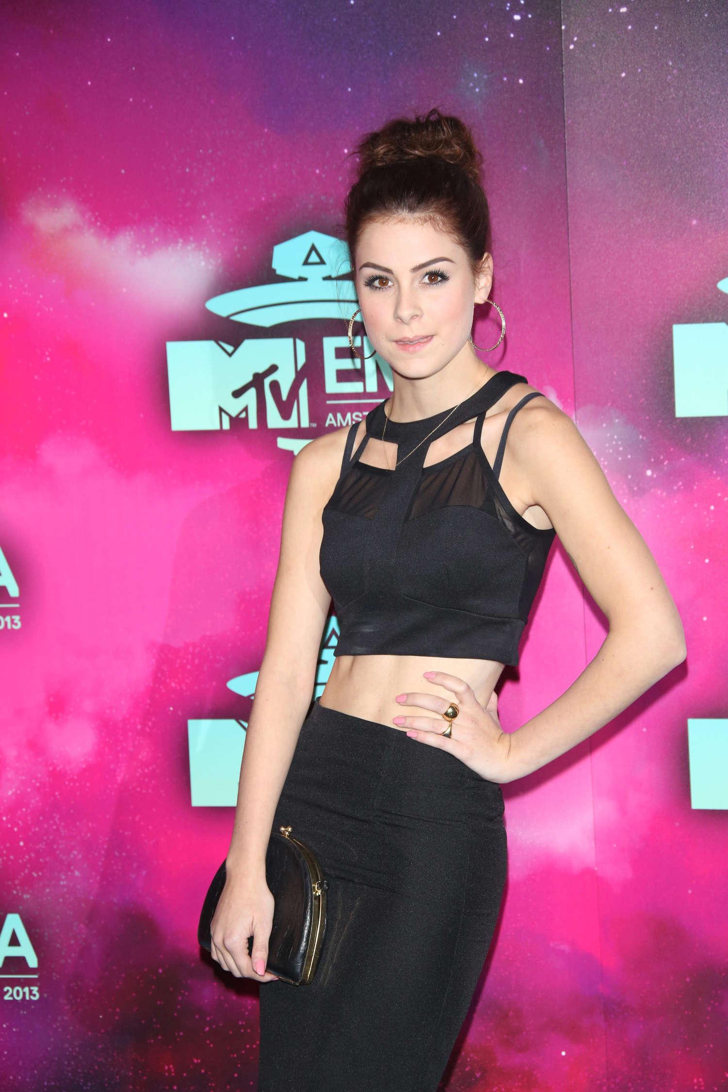 Lena Meyer Landrut: 2013 MTV EMA -09 - GotCeleb