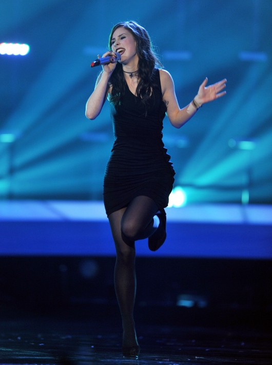Lena Meyer Landrut at Eurovision Song Contest 2010 – Final – HQ