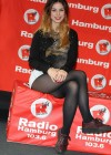 Lena Meyer Landrut at Radio Hamburg -11