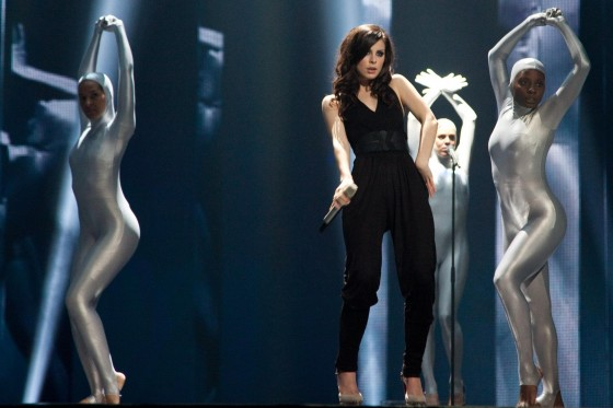 Lena Meyer Landrut Pics From Eurovision song contest: Finale