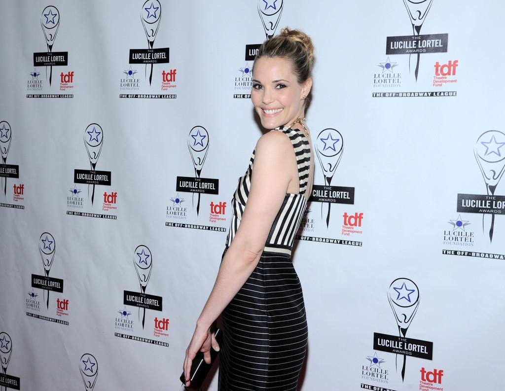 Leslie Bibb 2013 : Leslie Bibb – 2013 Lucille Lortel Awards -03