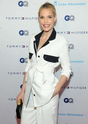 Leslie Bibb - Tommy Hilfiger and GQ Event Honoring The Men Of New York