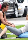 Leslie Mann Workout In Spandex for This is Forty - LA-01