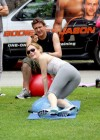 Leslie Mann Workout In Spandex for This is Forty - LA-02