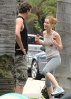 Leslie Mann Workout In Spandex for This is Forty - LA-15