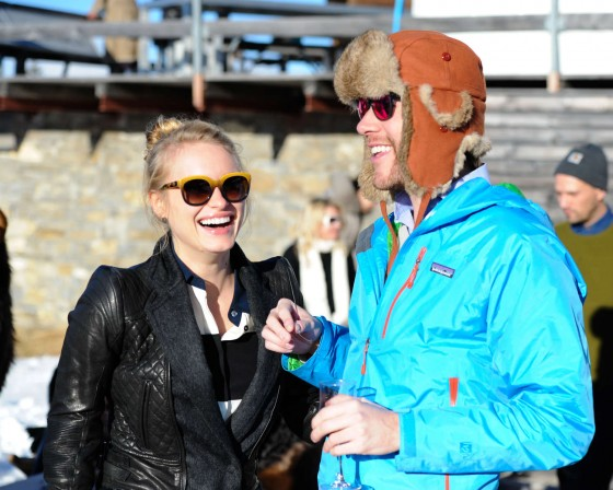 Leven Rambin: 2013 ASMALLWORLD Winter Weekend Lunch -06
