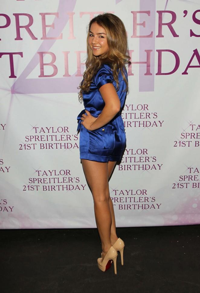 Lexi Ainsworth – Taylor Spreitler's 21st Birthday Party in Studio City