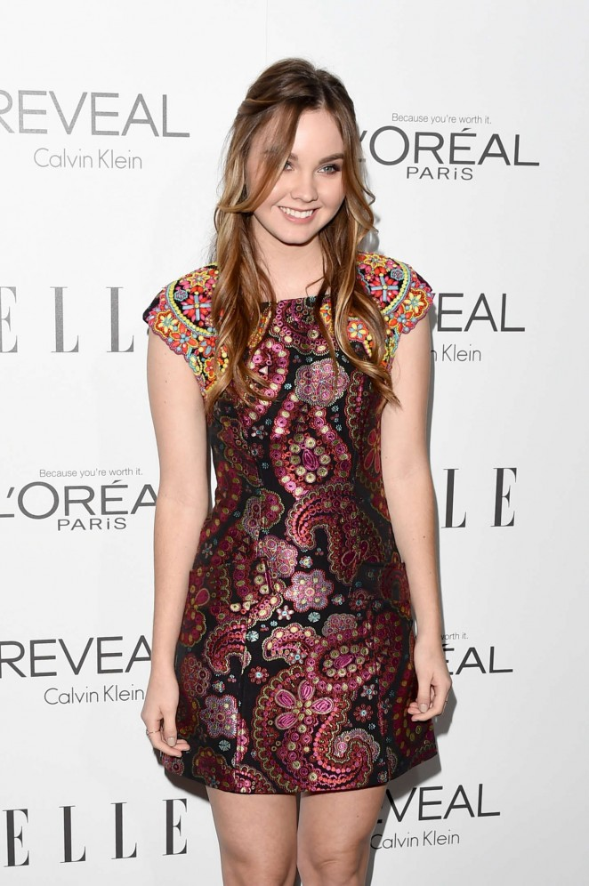 Liana Liberato - 21st annual ELLE's Women in Hollywood Awards in LA