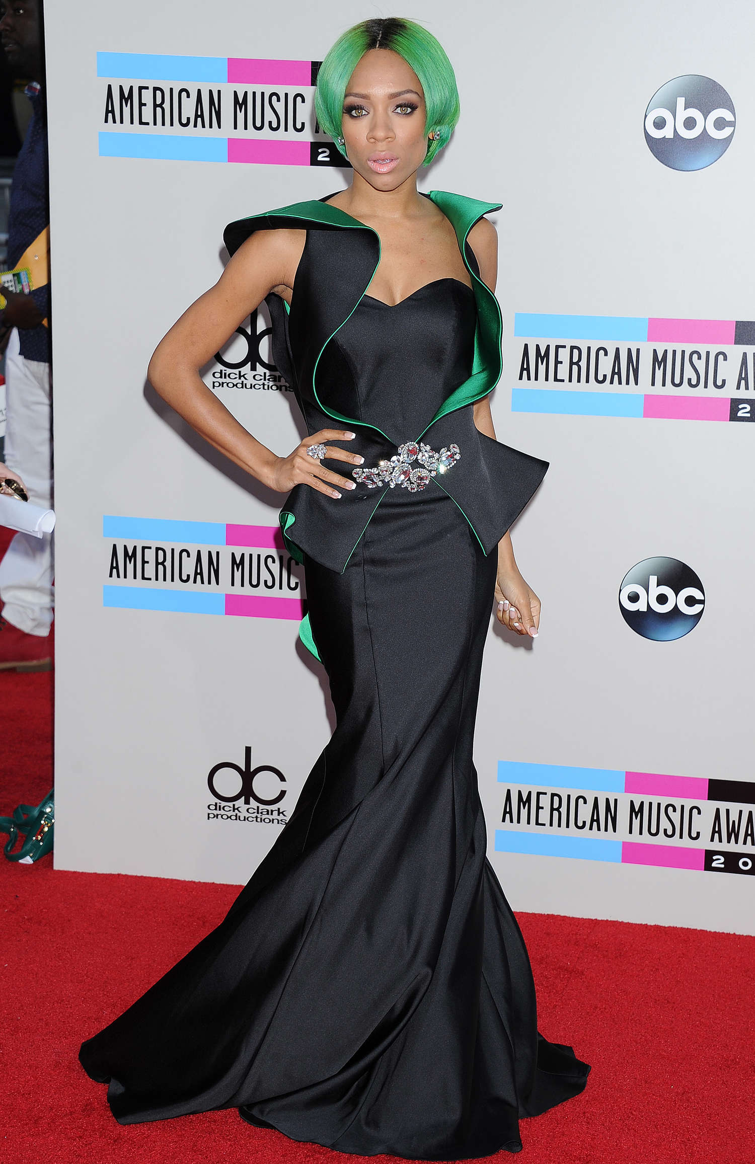 Lil Mama - 2013 American Music Awards in Los Angeles - GotCeleb