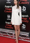 Lily Aldridge - August: Osage County Premiere -02