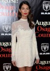 Lily Aldridge - August: Osage County Premiere -03