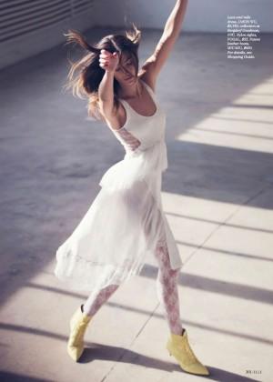 Lily Aldridge: Elle US -04