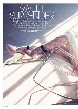 Lily Aldridge: Elle US -09