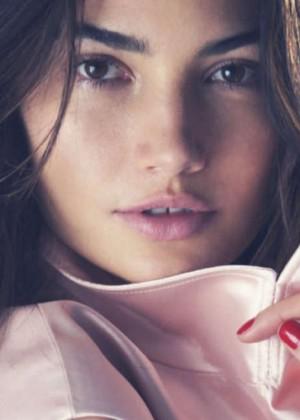 Lily Aldridge: Elle US -11