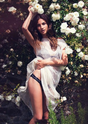 Lily Aldridge: GQ UK 2014 -01