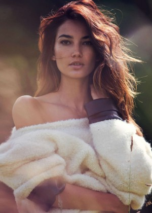 Lily Aldridge: GQ UK 2014 -05