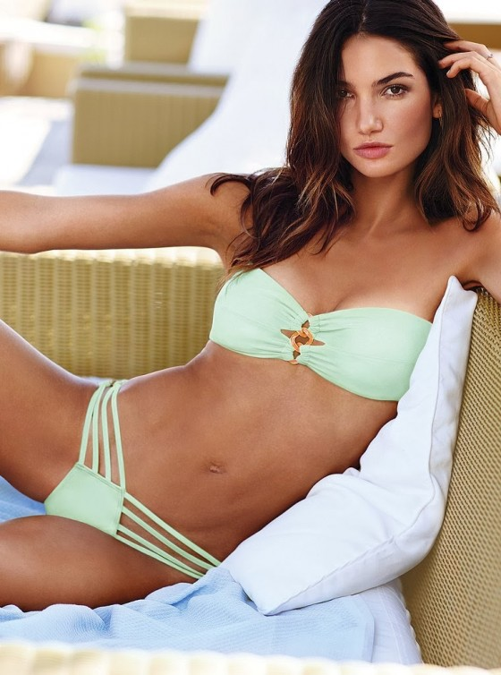 Lily Aldridge – Victoria's Secret Bikini Photoshoot (December 2013)