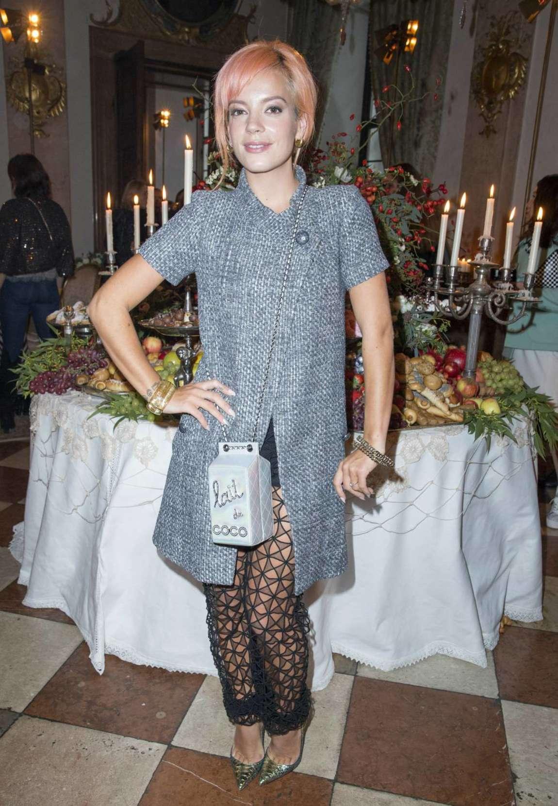 Lily Allen 2014 : Lily Allen: Chanel Metiers dArt Collection 20115 Paris-Salzburg -11