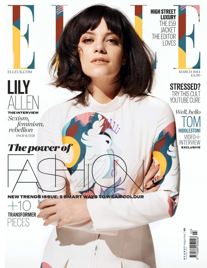 Lily Allen: Elle Magazine (UK March 2014) -02