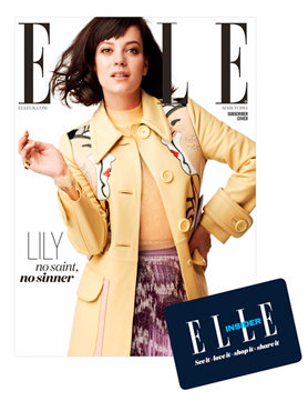 Lily Allen: Elle Magazine (UK March 2014) -04