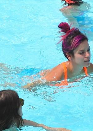 Lily Allen in bikini -18