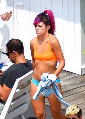 Lily Allen in bikini -25