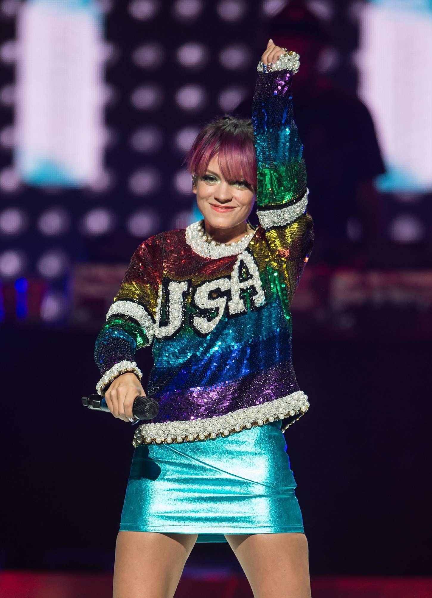 Lily Allen 2014 : Lily Allen Performs Live in Philadelphia -06