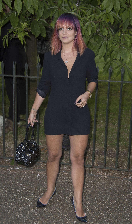 Lily Allen 2014 : Lily Allen 2014 Serpentine Gallery Summer Party -02